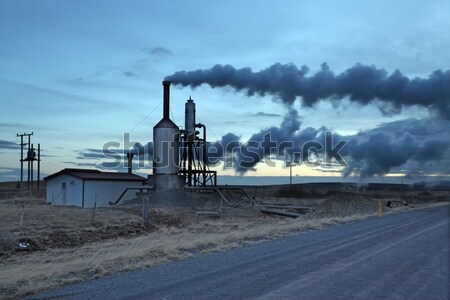 Geothermal Energy Iceland Stock photo © ollietaylorphotograp