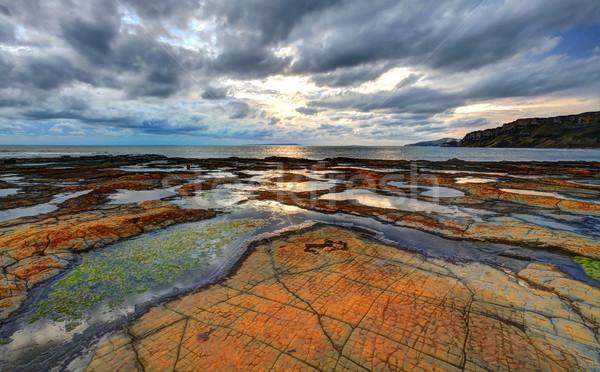Kimmeridge bay Dorset Stock photo © ollietaylorphotograp