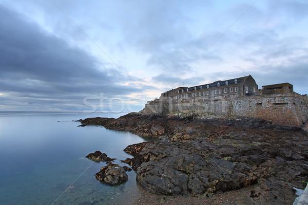 Cornet Castle Guernsey Stock photo © ollietaylorphotograp