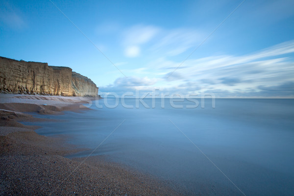West Bay Dorset Coast England Stock photo © ollietaylorphotograp