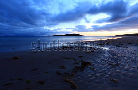 Gairloch big sand beach scotland Stock photo © ollietaylorphotograp