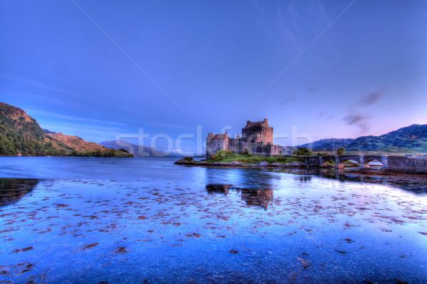 Eilean Donan Castle Stock photo © ollietaylorphotograp