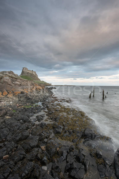 Lindisfarne Castle Starlight Stock photo © ollietaylorphotograp