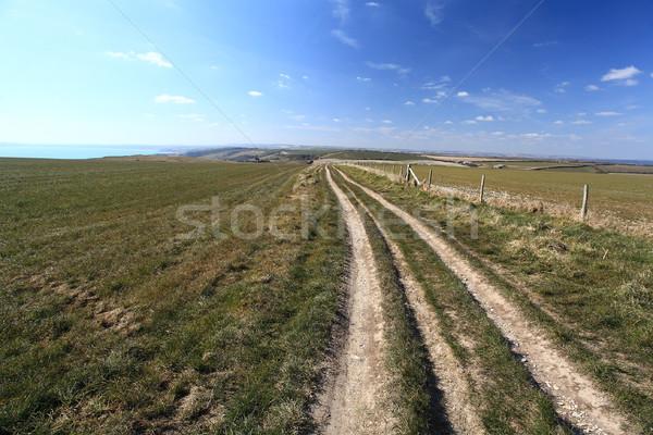 Англии сельский пляж воды пейзаж Сток-фото © ollietaylorphotograp