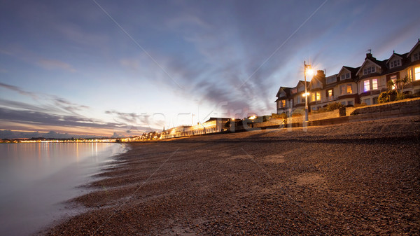 Houses by  the sea Stock photo © ollietaylorphotograp