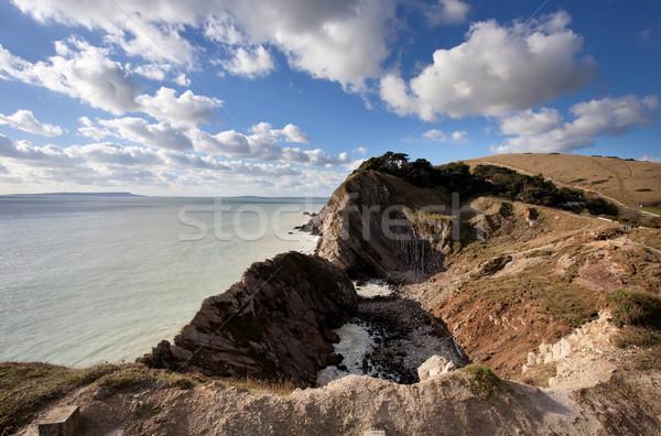 Lulworth Cove Dorset Coast England Stock photo © ollietaylorphotograp