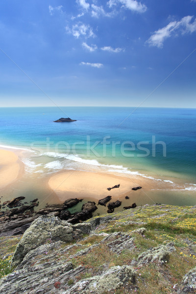 South Devon Coastline England Stock photo © ollietaylorphotograp
