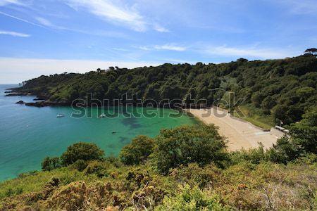 Fermain Bay Guernsey Stock photo © ollietaylorphotograp
