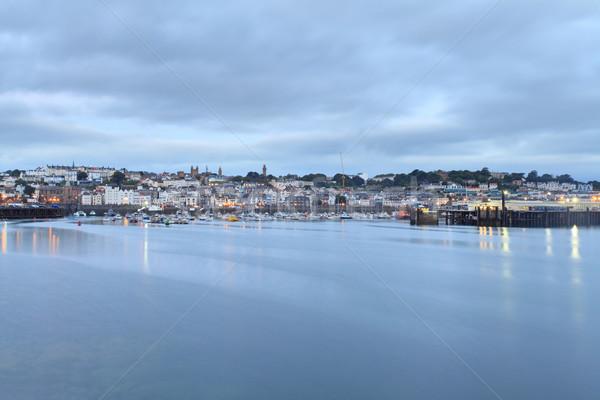 Guernsey St Peter Port Stock photo © ollietaylorphotograp