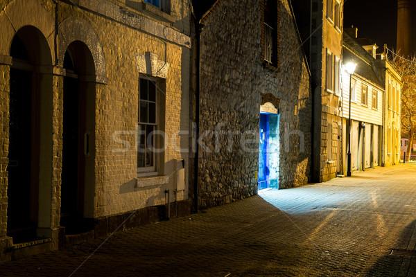 Cais crepúsculo sul ocidente inglaterra céu Foto stock © ollietaylorphotograp