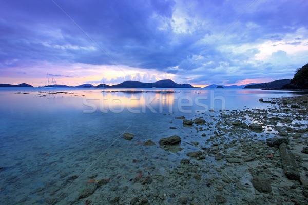 закат Пхукет Таиланд Азии воды природы Сток-фото © ollietaylorphotograp