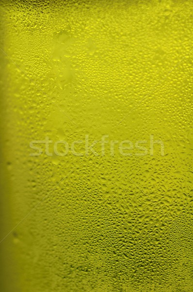 Stock fotó: Citromsárga · zöld · kondenzáció · üveg · textúra · fény