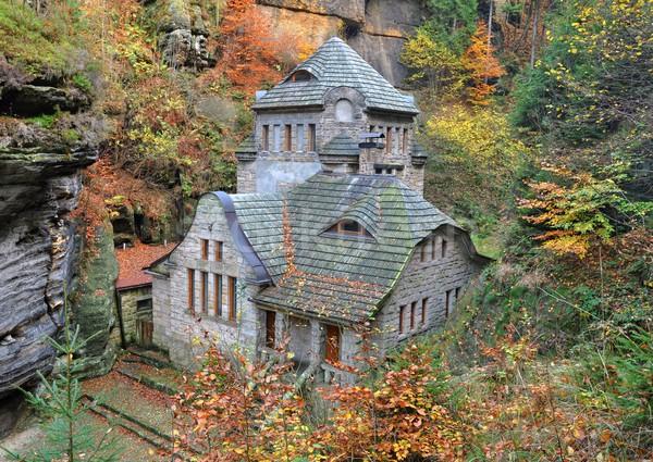 Fairytale house Stock photo © ondrej83