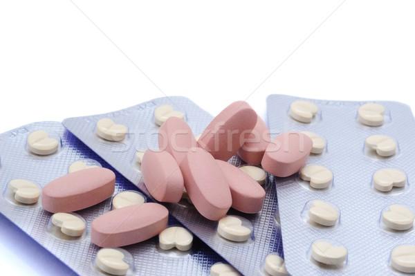 錠剤 多くの 異なる 薬 ストックフォト © ondrej83