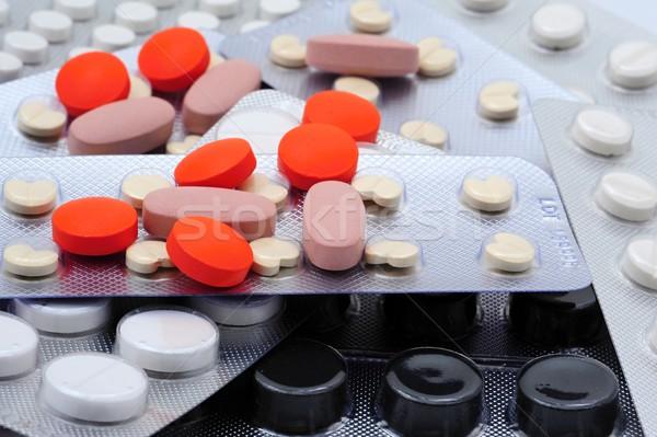 Various pills Stock photo © ondrej83
