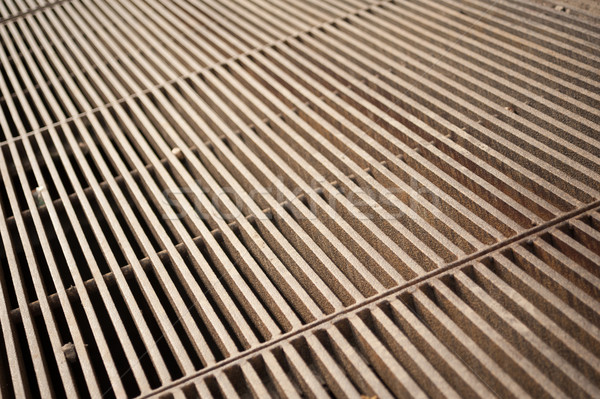Metal grate Stock photo © ondrej83