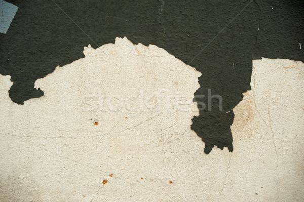Pelé peinture Nice coloré vieux gris Photo stock © ondrej83