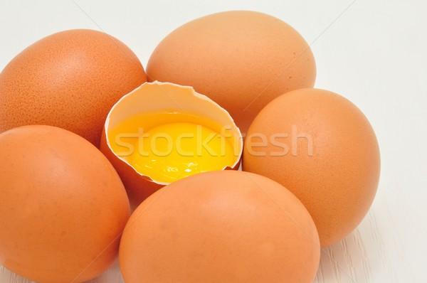 Eggs Stock photo © ondrej83