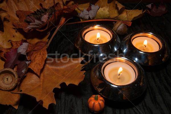 Stock photo: Autumn decoration