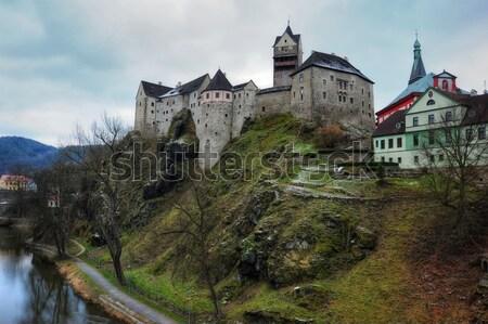 Castle Loket Stock photo © ondrej83