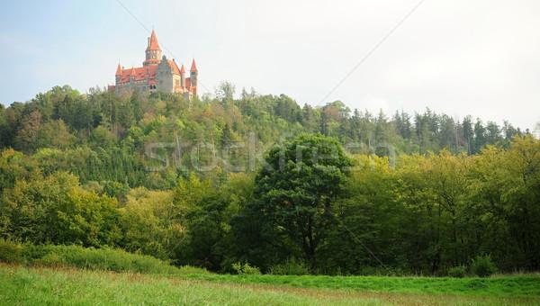 Castle Bouzov Stock photo © ondrej83