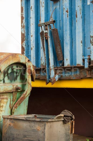 ストックフォト: コンテナ · 廃棄物 · 詳しい · 表示 · 古い