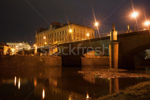 Night city Stock photo © ondrej83