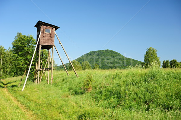 Hunting tower Stock photo © ondrej83