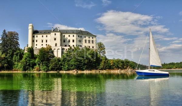Castle Orlik Stock photo © ondrej83