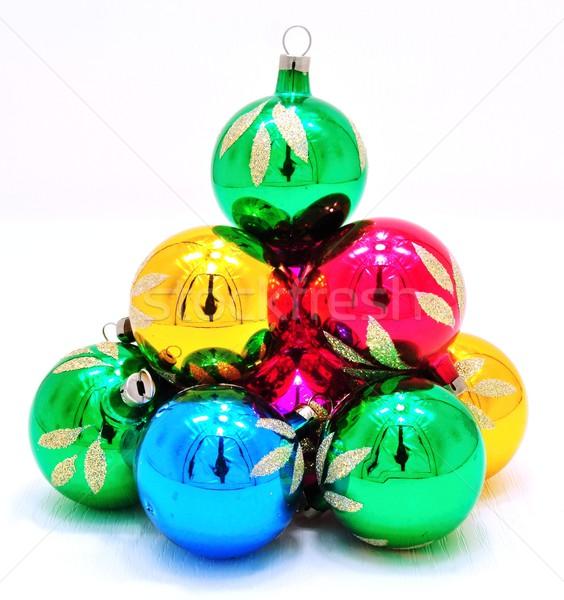 Christmas decorations Stock photo © ondrej83