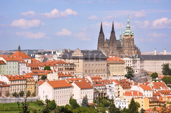 Görmek Prag güzellik güzel avrupa şehir Stok fotoğraf © ondrej83