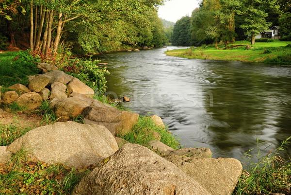 River in the valley Stock photo © ondrej83