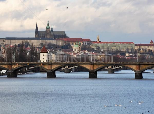 Prague Castle Stock photo © ondrej83