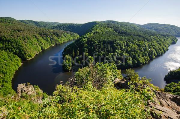 мнение реке лес природы пейзаж горные Сток-фото © ondrej83