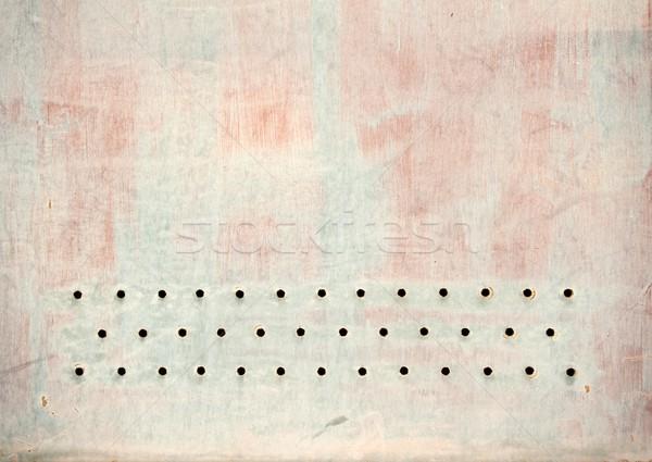 Perforated sheet Stock photo © ondrej83