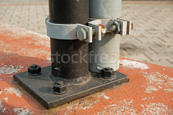 Anchoring of traffic signs Stock photo © ondrej83