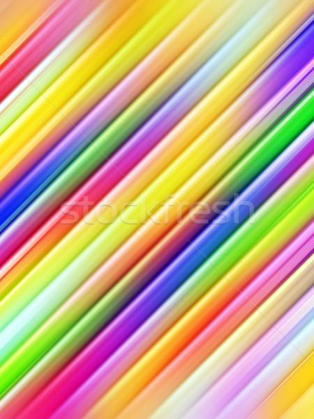 Resumen colorido diagonal tuberías alto Foto stock © oneo