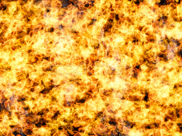 Burning fire flame background Stock photo © oneo
