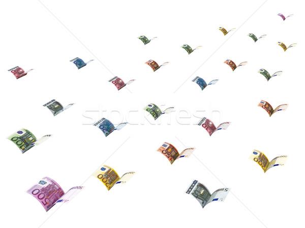 Euros battant loin élevé résolution Photo stock © oneo