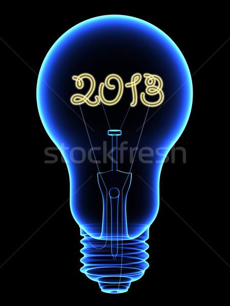 Xray ampoule 2013 à l'intérieur Photo stock © oneo