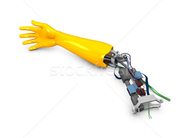 Robotic arm Stock photo © OneO2
