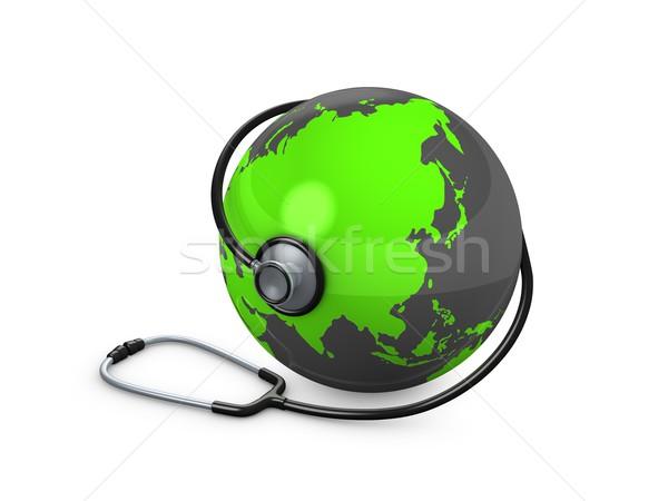 world helthcare Stock photo © OneO2