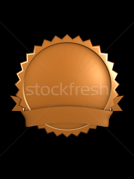 Stock photo: Bronze, brand