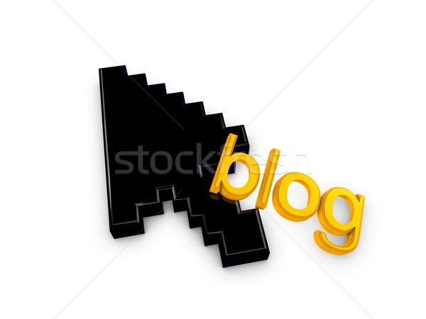 blog Stock photo © OneO2