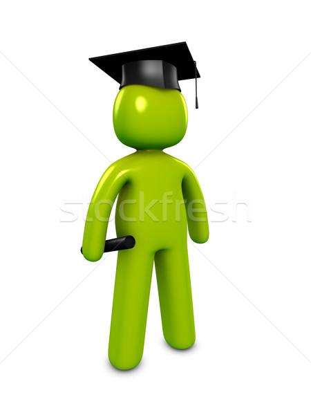 Graduate Stock photo © OneO2