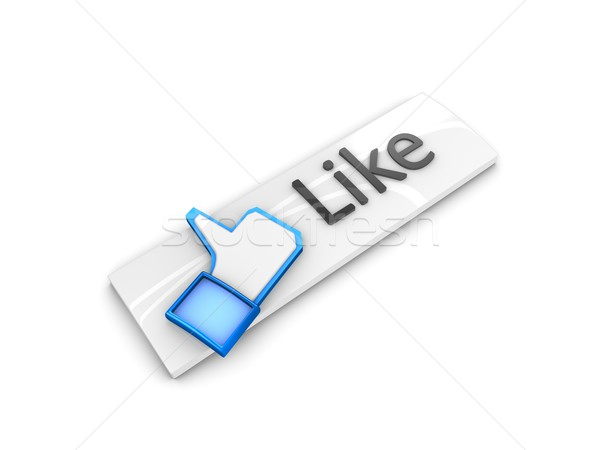 like button Stock photo © OneO2