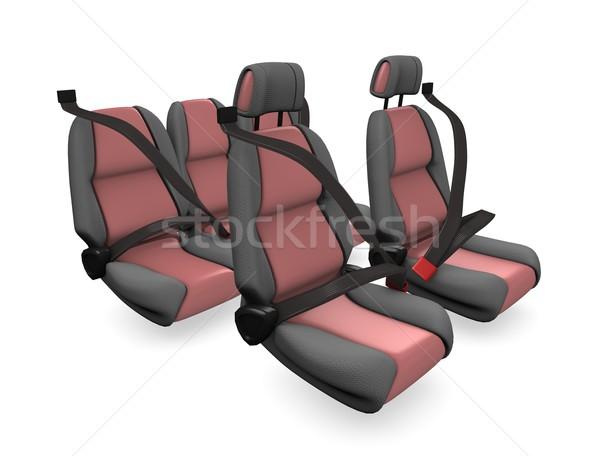 Car seat Stock photo © OneO2