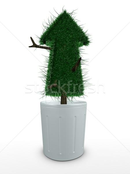 бонсай 3D изображение цветок дерево среде Сток-фото © OneO2