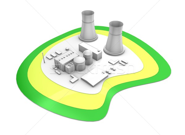 Nuclear reactor Stock photo © OneO2