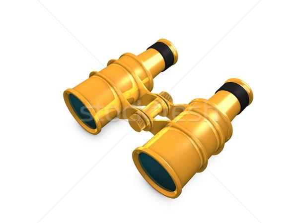 Gold binocular Stock photo © OneO2